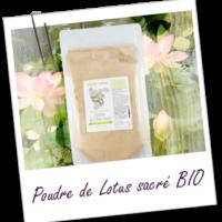 Aroma zone, poudre de lotus sacré bio