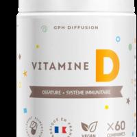 Gph diffusion, vitamine D3, 60 comprimés