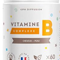 Gph diffusion, vitamine B COMPLEXE 60 comprimés