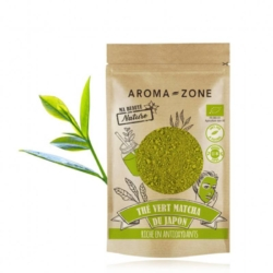 Aroma zone, thé vert matcha du japon bio
