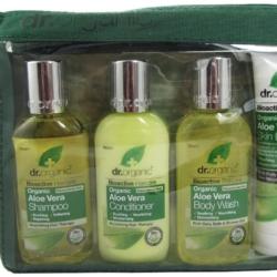 Dr organic, Kit Voyage à l'Aloe Vera