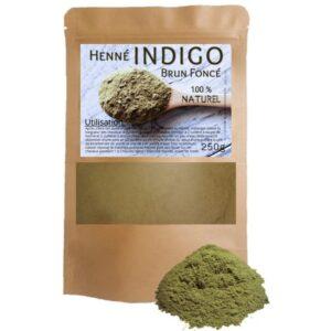 aroma zone poudre indigo bio